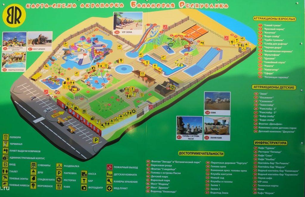 банановая республика аквапарк