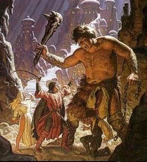 Великаны и Одиссей