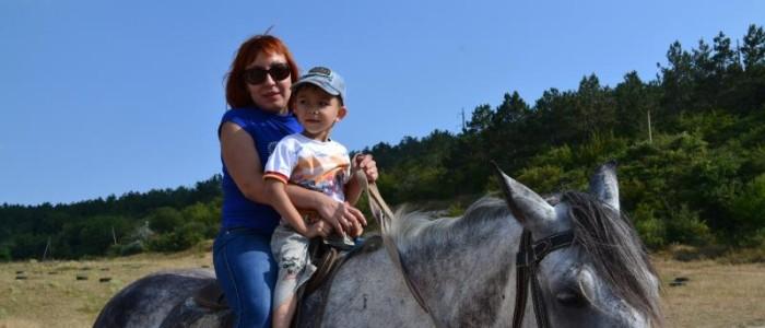 Конный маршрут,прогулка на лошадях