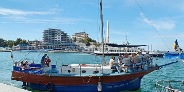 Отдых на яхте в Севастополе