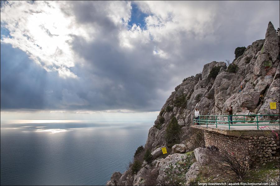 Бухта Ласпи, Байдарский перевал