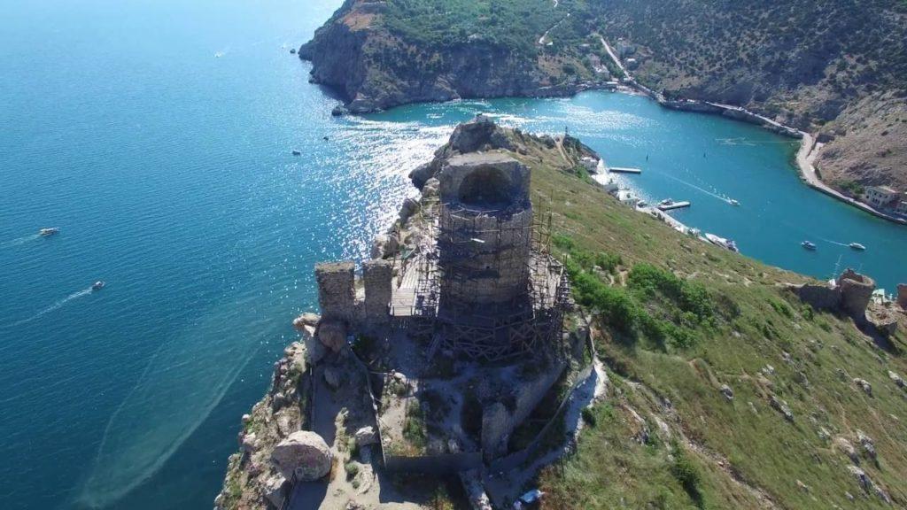 Балаклава и крепость Чембало