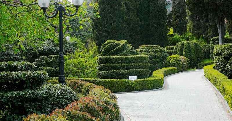 парк в Гурзуфе